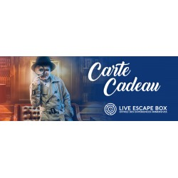 E-carte cadeau Live Escape Box
