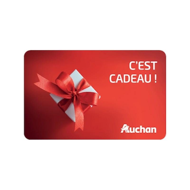 Carte Cadeau Auchan