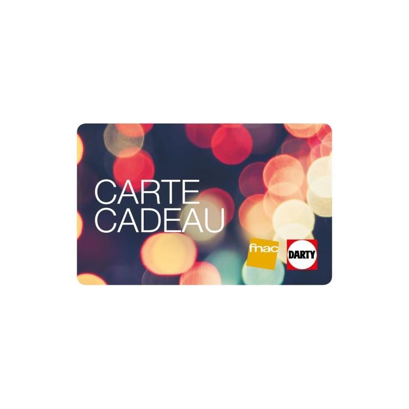 Carte Cadeau Fnac Valable.E Carte Cadeau Fnac Darty