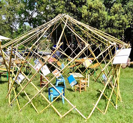 Construisons une Flex'yourte - Festival Les petits ruisseaux