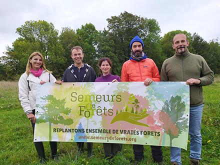 Planter une Forêt perpétuelle dans l'Oise - Semeurs de Forêts